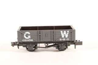 Peco Nr-40w 10ft 5 Plank Mineral Wagon Gwr